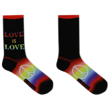 K. Bell Women's Love Is Love Crew Socks