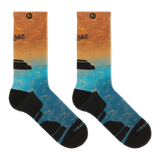 Merrell Tonal Printed Performance Crew Socks thumbnail