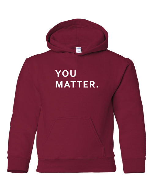 You Matter Youth Hoodie