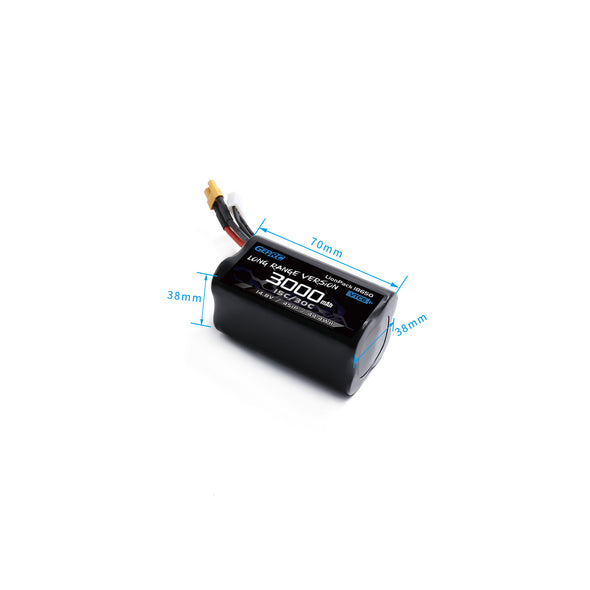 GepRC 4S 3000mAh Li-Ion Battery XT30/XT60