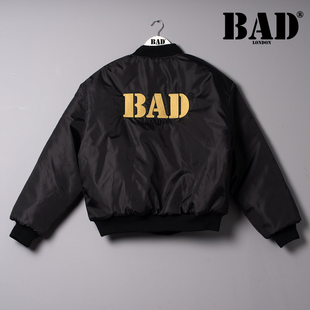 BAD Couture London Designer Clothing Puffed Bomber Jacket