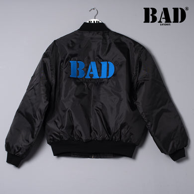 BAD Couture Collection London Designer Clothing Fashion Puffed Bomber Jacket