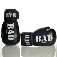 Load image into Gallery viewer, BAD BOXING GLOVES LONDON ATHLETES TRAINING AND PROFESSIONAL FIGHTS