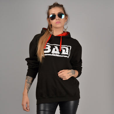 BAD LONDON Clothing Designer Street fashion Black Hoodie