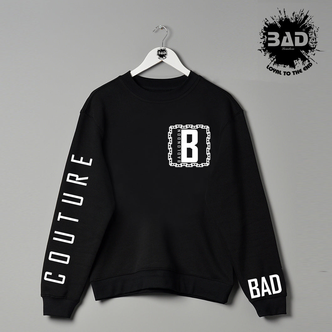 BAD Couture London Designer Athletics Fashion Sweatshirt