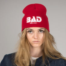 Load image into Gallery viewer, BAD Athletics Apparel Brand London Designer Couture Beanie