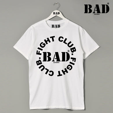 BAD Fight Club Athletics  Apparel London Designer Couture Premium T Shirt