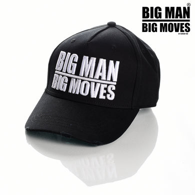 BIG MAN BIG MOVES CLOTHING LONDON COUTURE FASHION PREMIUM STREET WEAR AND SPORTS FITNESS ATHLETICS APPAREL TRUCKER SNAPBACK
