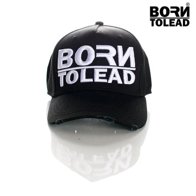 BORN TO LEAD CLOTHING LONDON DUTY OF CARE COUTURE FASHION PREMIUM STREET WEAR AND SPORTS FITNESS ATHLETICS APPAREL TRUCKER SNAPBACK
