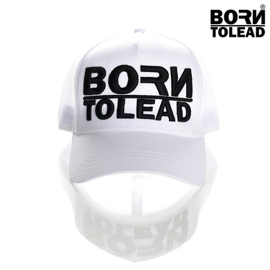 BORN TO LEAD APPAREL LONDON DUTY OF CARE COUTURE FASHION PREMIUM STREET WEAR AND SPORTS FITNESS ATHLETICS APPAREL TRUCKER SNAPBACK