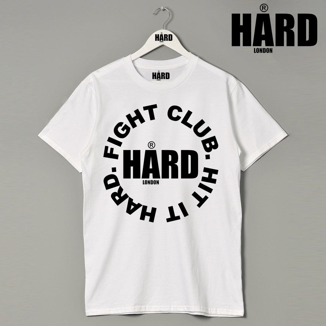 HARD Fight Club London Athletics Clothing Brand Designer Sports Fashion T Shirt