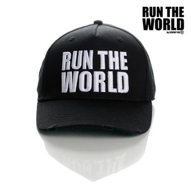 Run The World Apparel Couture Brand By Screw You Distressed Raw Style Premium Quality Brand