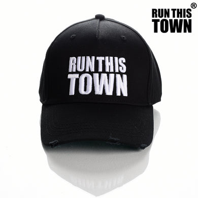 Run This Town Couture Cap Distressed Style Premium Quality