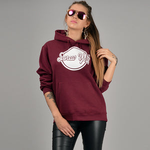 Screw You Branded Apparel Designer Hoodie