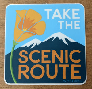 Open image in slideshow, Scenic Route sticker