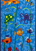 POD HLADINOU MORA | UNDER THE SEA | PANEL