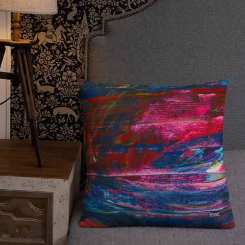 large throw pillow or cushion
