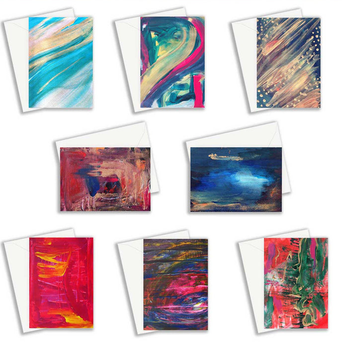 8 Card Bundle (€3.73 per card) - nat. live in art