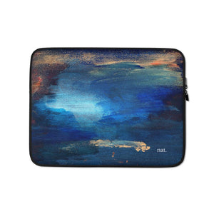Laptop Sleeve 'seacaving' - nat. live in art