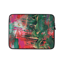 Load image into Gallery viewer, Laptop Sleeve 'melting' - nat. live in art