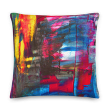 Load image into Gallery viewer, XL Cushion 'Hintertux' - nat. live in art