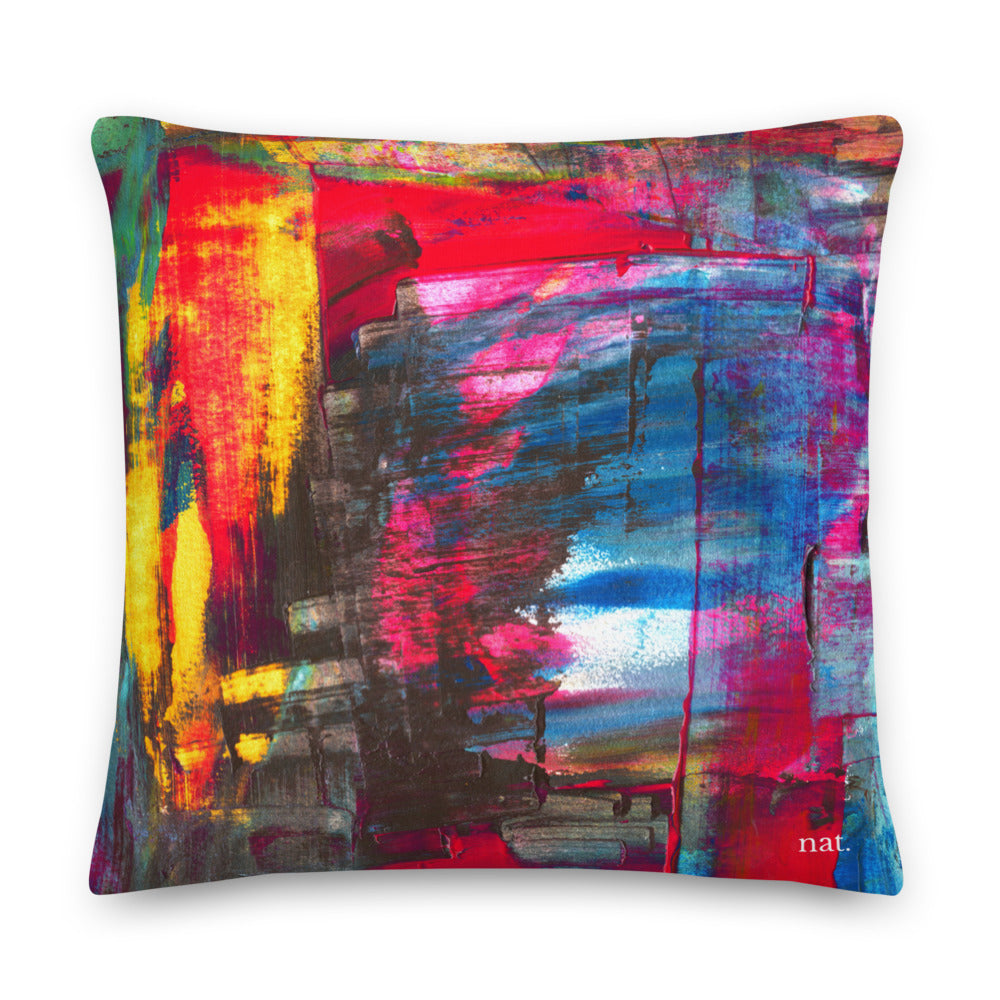 XL Cushion 'Hintertux' - nat. live in art