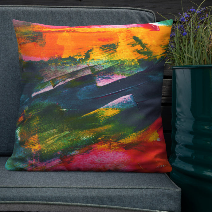Cushions 'Sunset in Bali' (3 sizes) - nat. live in art