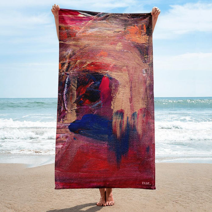 towel 'anticipating' - nat. live in art