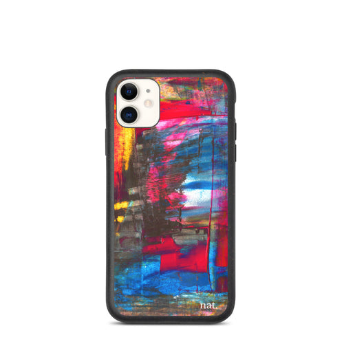 Eco iPhone Case 'Hintertux' - nat. live in art