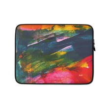 Load image into Gallery viewer, Laptop Sleeve 'Sunset in Bali' - nat. live in art