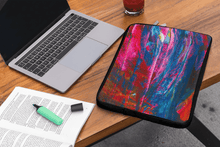 Load image into Gallery viewer, Laptop Sleeve 'emerging' - nat. live in art