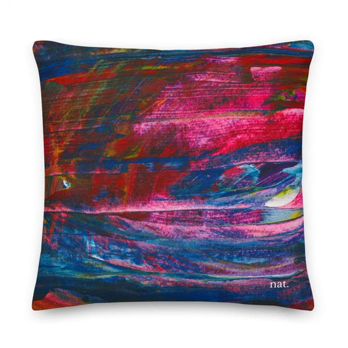emerging XL cushion - nat. live in art