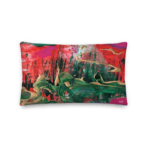 Wide Cushion 'melting' - nat. live in art
