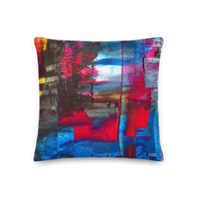 Load image into Gallery viewer, Regular Cushion 'Hintertux' - nat. live in art