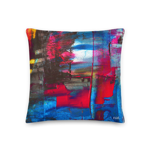 Regular Cushion 'Hintertux' - nat. live in art