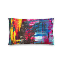 Load image into Gallery viewer, Wide Cushion 'Hintertux' - nat. live in art