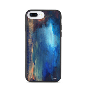 eco iPhone Case 'seacaving' - nat. live in art
