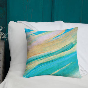 nat. golding reg. cushion - nat. live in art