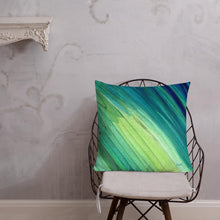 Load image into Gallery viewer, seaweeding XL cushion - nat. live in art