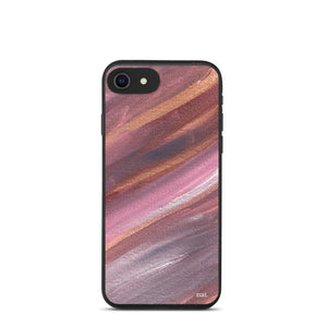 eco iPhone case 'listening' - nat. live in art