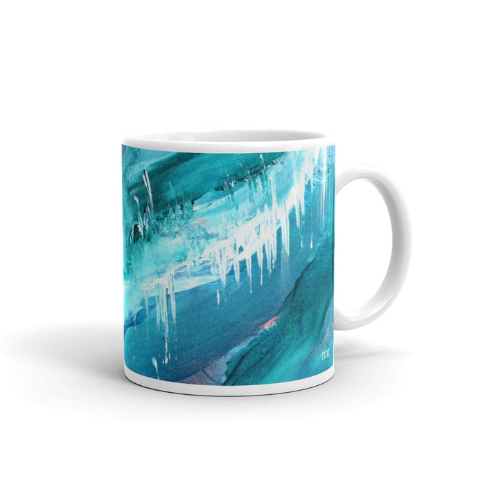Mug 'icing' - nat. live in art