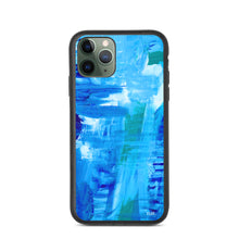 Load image into Gallery viewer, eco iPhone Case 'surfing' - nat. live in art
