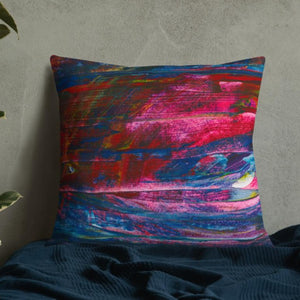 XL Cushion 'emerging' - nat. live in art
