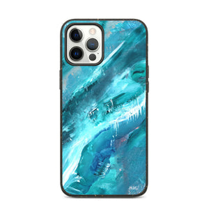 eco iPhone case 'icing' - nat. live in art
