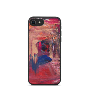 eco Phone Case 'anticipating' - nat. live in art