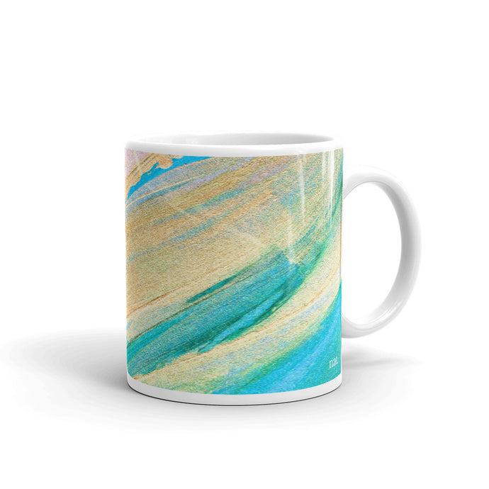 Mug 'golding' - nat. live in art