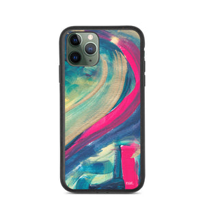 eco iPhone Case 'mingling' - nat. live in art