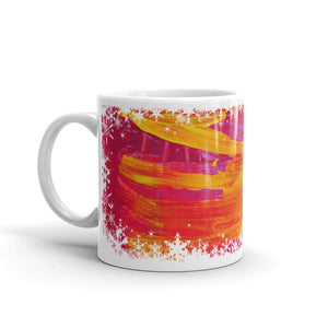 festive mug 'strengthening' - nat. live in art