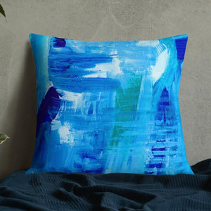 XL Cushion 'surfing' - nat. live in art
