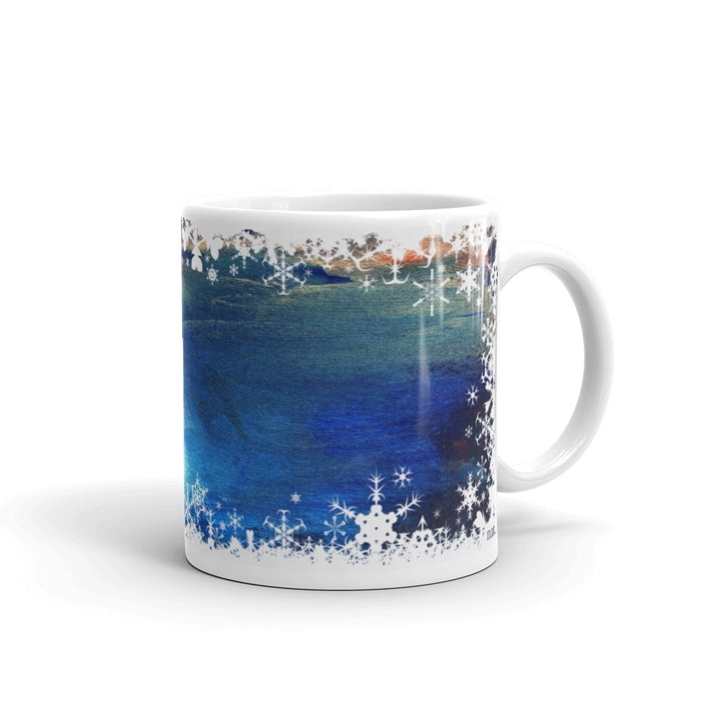festive mug 'seacaving' - nat. live in art